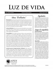 Luz de vida (Light of Life) texto