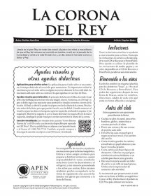 La corona del Rey texto (The King's Crown - Text)