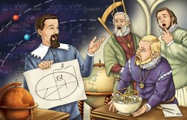 Blast Off! The Story of Johannes Kepler