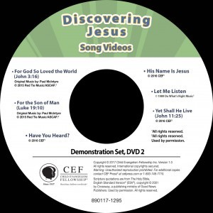 "Discovering Jesus Song Video Album MP4 ""Download Only"""