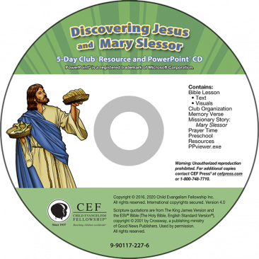 Discovering Jesus / Mary Slessor Resource PPT CD Download