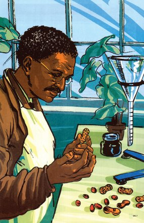 Discovering with God (George Washington Carver)