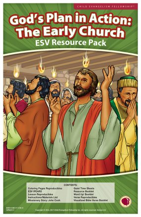 God's Plan in Action: The Early Church Resource Pack ESV