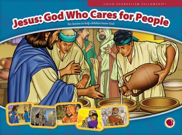 Jesus: God Who Cares for People - Flashcard visuals