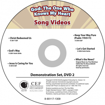 God: The One Who Knows My Heart Demo DVD