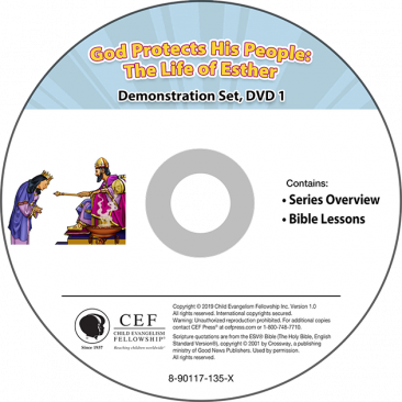 God Protects His People: The Life of Esther Demo DVD