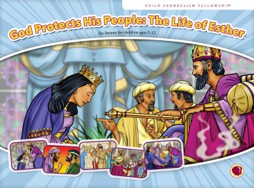 God Protects His People: The Life of Esther Flashcard visuals
