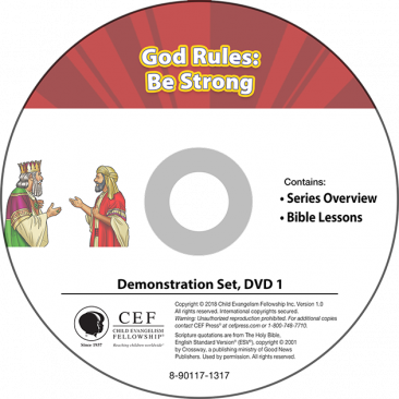 God Rules: Be Strong Demo DVD