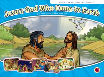 Jesus: God Who Came to Earth - Flashcard visuals
