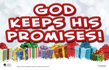 God Keeps His Promises! (Christmas Party Kit)