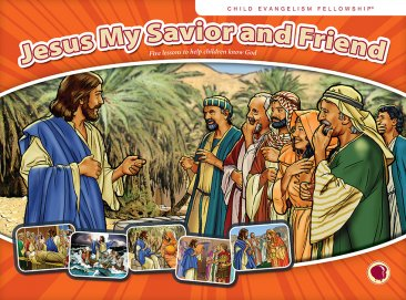 Jesus: My Savior and Friend - Flashcard Visuals