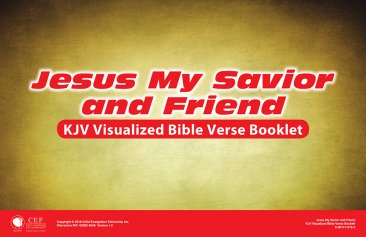 Jesus: My Savior and Friend - Verse Visual KJV