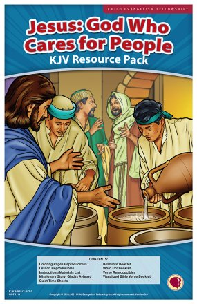 Jesus: God Who Cares for People Resource Pack KJV