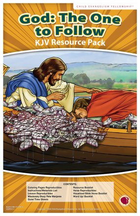 God: The One to Follow Resource Pack KJV