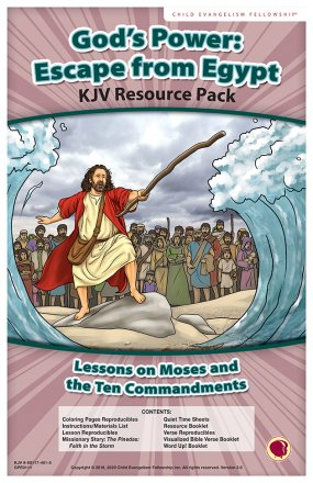 God's Power: Escape from Egypt Resource Pack KJV