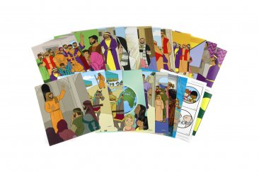 Little Kids Can Know God through the His Church - Flashcards