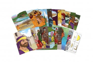 Little Kids Can Know God through the Prayer - Flashcards