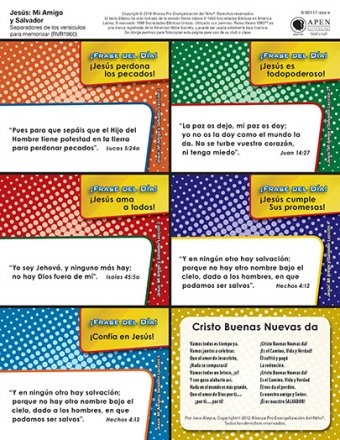 Jesus: My Savior and Friend Tokens - Spanish