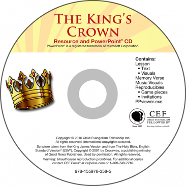 The King's Crown Kit (Easter Party Kit)