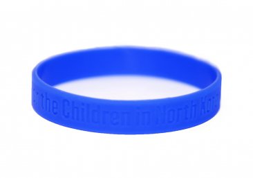 Pray for North Korea Wristband Youth size